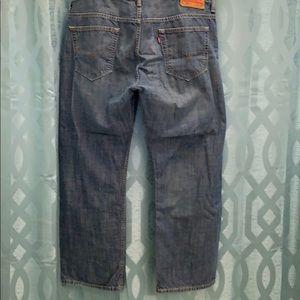 Levi's men's size 36/30, Zip up Levi's 569's
